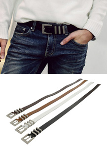 18923 - Metal Strap Belt <br> (4 color) <br>