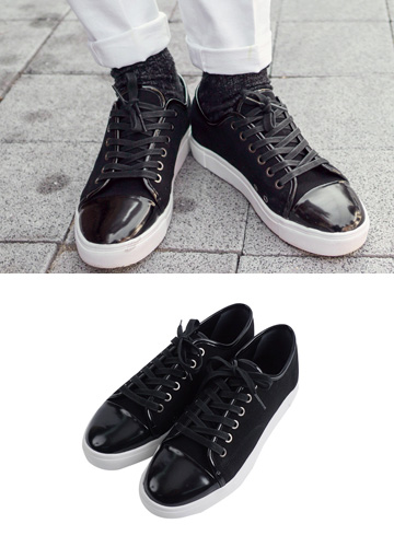 18936 - Shelto Enamel Sneakers <br> (10 mm) <br>
