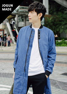 19083 - Thomas Denim Long Jackets <br> (3 size) <br>