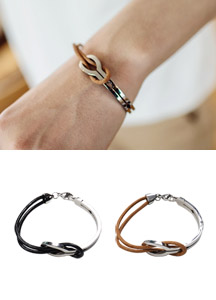 19191 - Turning leather bracelet <br>