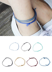 19230 - Daily Color anklets <br>