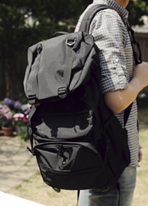 19257 - 2 type buckle BackPack <br> (2 type) <br>