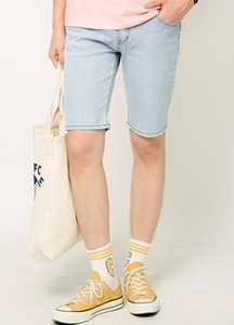 19314 - Roy Washing Denim Shorts <br> (4 size) <br>