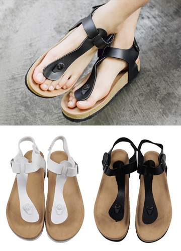 19315 - Maxim Velcro Sandals <br> (10 mm) <br>