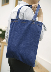 19351 - Washing Denim Tote Bag <br>