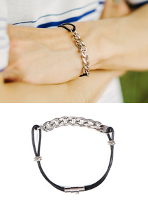 19418 - Pixel chain bracelet <br>