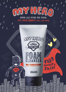 19421 - My hero foam cleanser <br> 150ml <br>