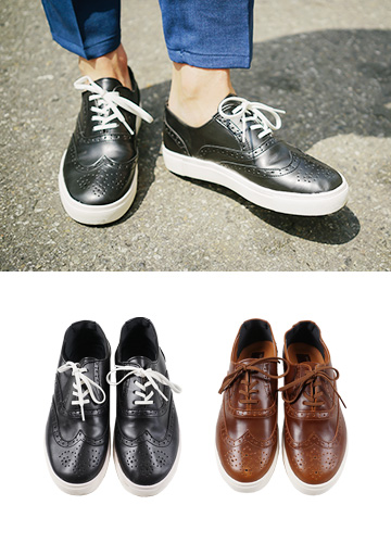 19465 - Modern Look Wingtip Sneakers <br> (10 mm) <br>