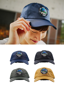 Satin Patch Ball Cap