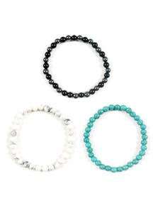 19518 - minimal bead bracelet <br>