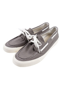 19520 - Canvas Boat Sneakers <br> (10 mm) <br>
