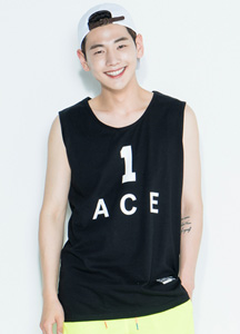 19545 - Ace printing Sleeveless shirts <br> (1 size)