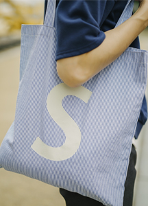 Slogo Stripe Eco Bag