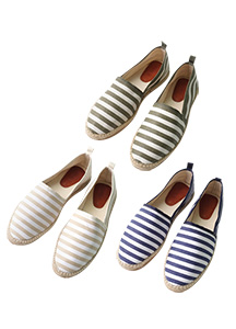 19648 - Hamp Stripe Espadrill <br> (10 mm) <br>