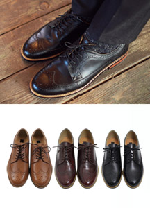 6610 - Classical wingtip shoes <br> (10 mm) <br>