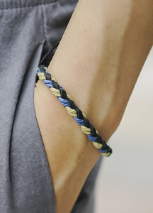 Color mix rope bracelet