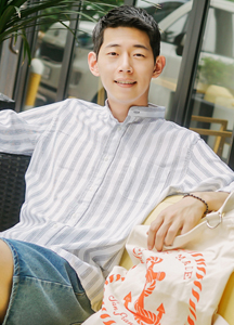 19724 - Teak Stripe China Shirt <br> (3 size) <br>