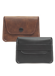 19750 - Modern Classic card wallet <br> (2 type) <br>