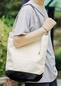 19838 - Coloration pocket Eco bag <br>