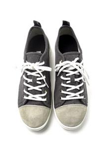19983 - Suede color combination Sneakers <br> (10 mm) <br>