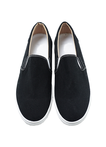 20071 - Cotton simple Slip-on Shoes <br> (10 mm) <br>