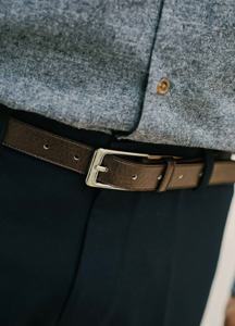 20150 - Square simple Binjo Belt <br>