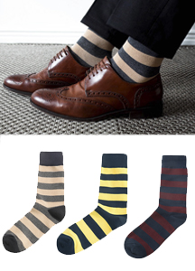 Floor color combination socks