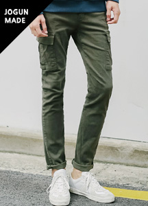 20216 - Pigment Dying Cargo Pants <br> (4 size) <br>