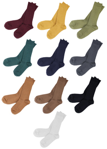 20327 - Sellers Colorful Silket Socks <br>