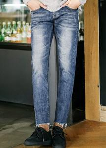 20349 - Crump Cutting Denim Pants <br> (4 size) <br>