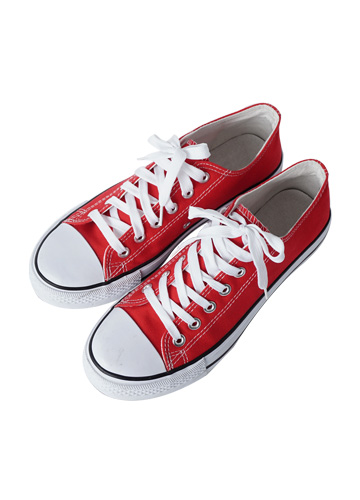 """20378 - Avenue Cotton Sneakers <br> (5 mm) <br> <font color=""""#ff0000""""><b>[Man and woman couple]</b></font> <br>"""