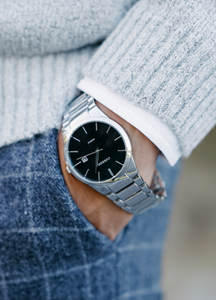 20385 - Maroni metal watch <br>