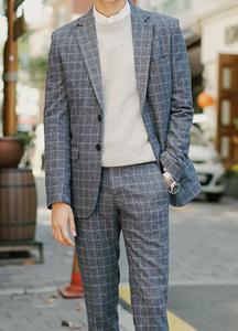 20420 - Verdun Check Suit set <br> (3 size) <br>