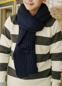 20490 - Mellow Knit muffler <br>