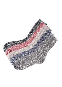 20498 - Thick bokashi knit socks <br> (5 color) <br>