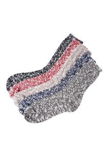 20498 - Thick bokashi knit socks <br> (5 color) <br>