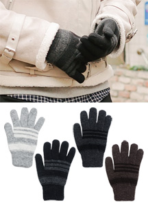 20523 - Center Stripe Gloves <br>