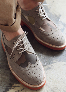 5724 - Military Wingtip Shoes <br> (10 mm) <br>
