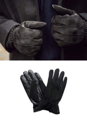 20566 - Men's Black Touch Glove <br>
