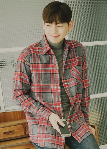20615 - Kai flannel Check Shirt <br> (1 size) <br>