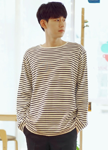 20865 - Block Stripe Knit Tee <br> (1 size) <br>