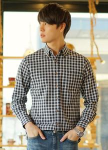 20933 - minimal Check Shirt <br> (4 size) <br>