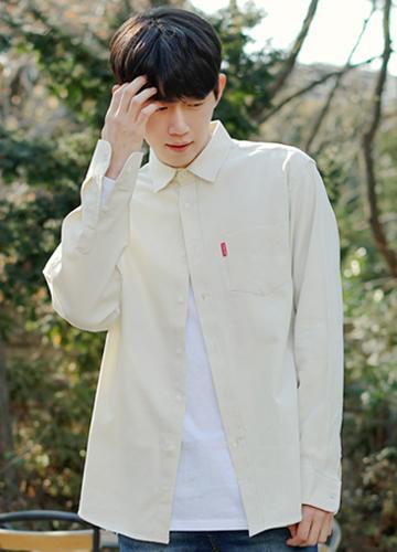 20953 - Soft Box overfit Shirt <br> Free (95-105) <br>