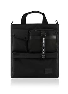 20962 - [GFLAT] <br> Black tail cross bag <br>