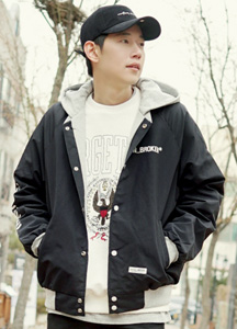 21011 - Cotton Hood Broken Jacket <br> (2 size) <br>