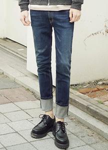 21012 - Basic Tension Damage Jeans <br> (4 size) <br>