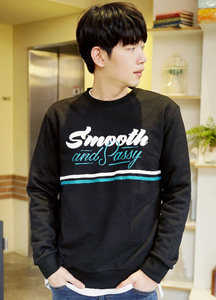 21014 - Smooth line Man to man <br> (1 size) <br>