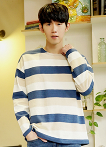 21018 - Soft Marble Long Sleeve Tee <br> (1 size) <br>