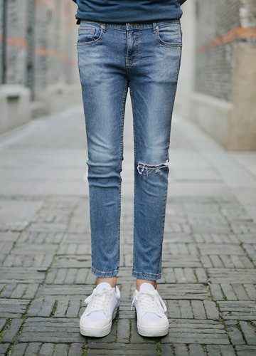 21030 - Unbreakable Damage Jeans <br> (4 size) <br>