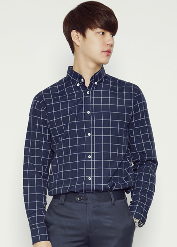 21050 - Windows Check simple Shirt <br> (3 size) <br>